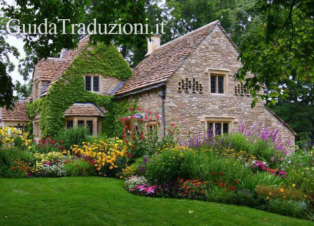 English Country Cotswold Cottage