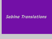 Sabina Translations