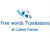 Free words Translations di Galletti Patrizia
