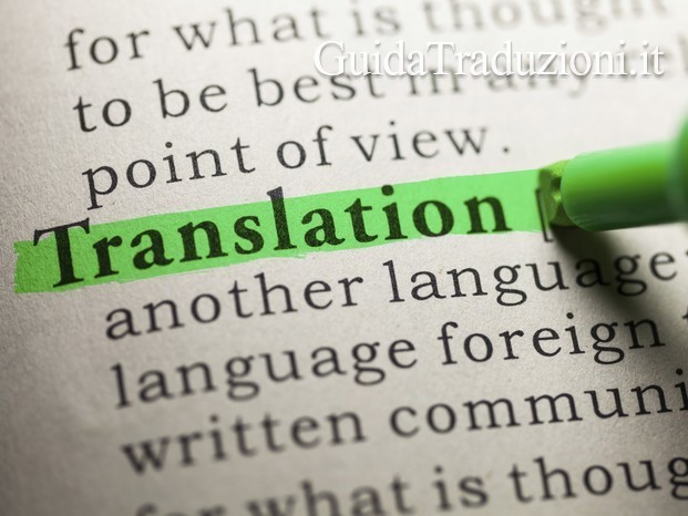 TRANSLATION SERVICES: ENGLISH, FRENCH, ITALIAN
